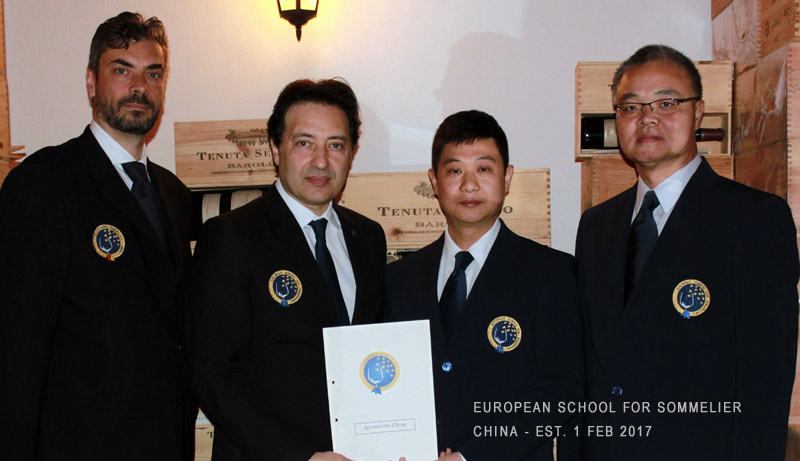 European School for Sommelier China - Arcangelo Tomasello